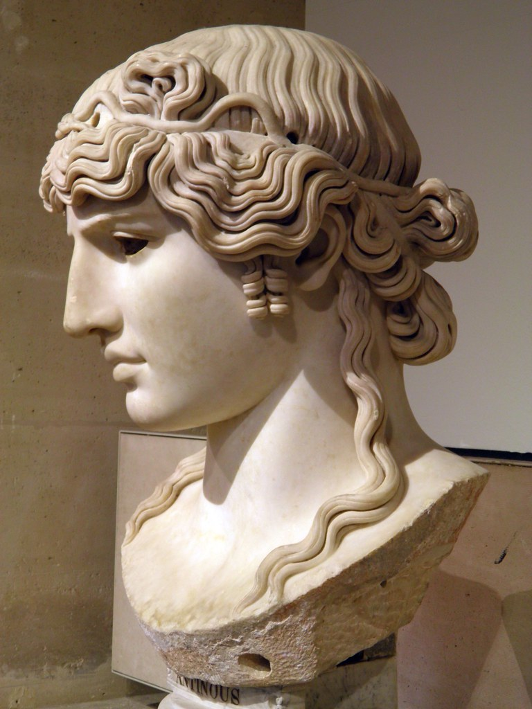 Antinous Mondragone C 130 Ad From The Mondragone Villa