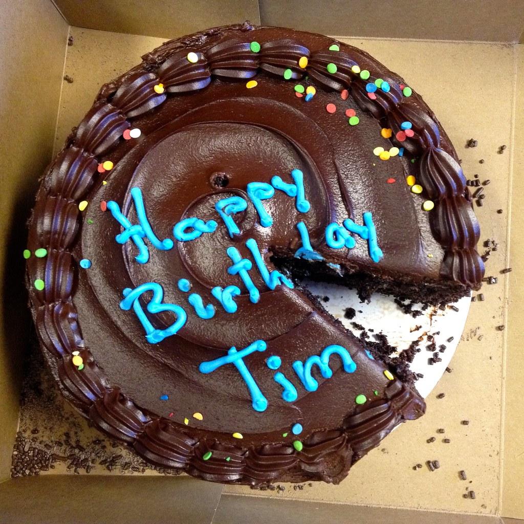 Birthday Cake Tim