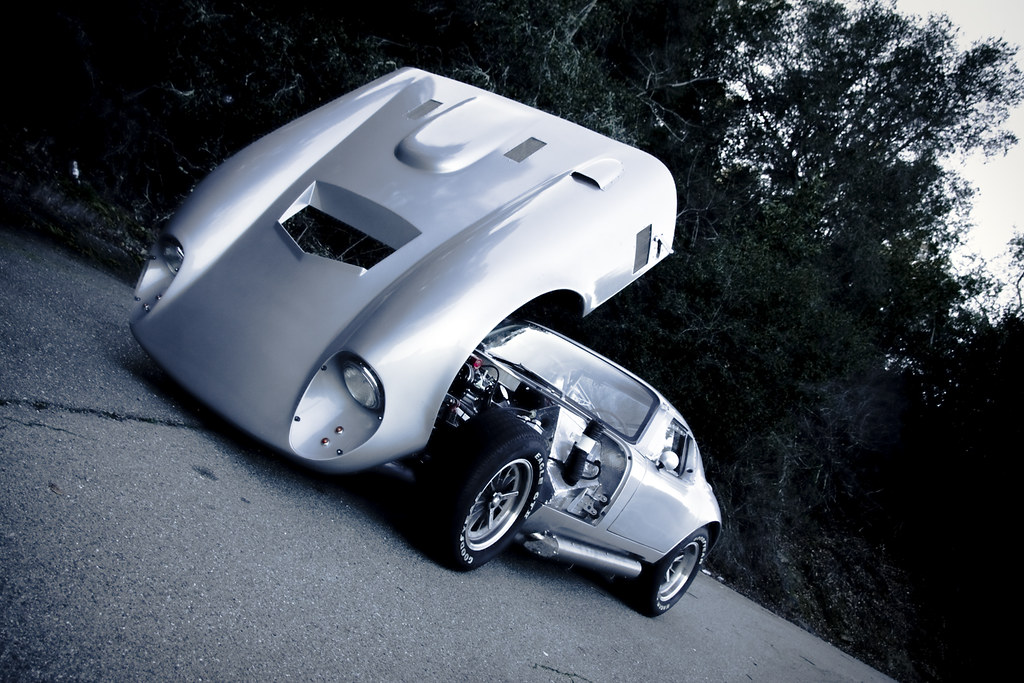 Racing In Car >> Factory Five Racing Type 65 Coupe Open Hood | After Mt ...