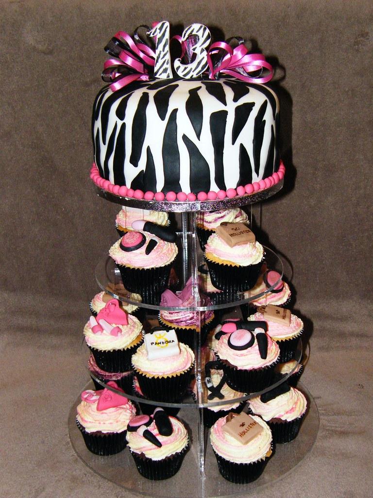 Zebra Print Cake Images