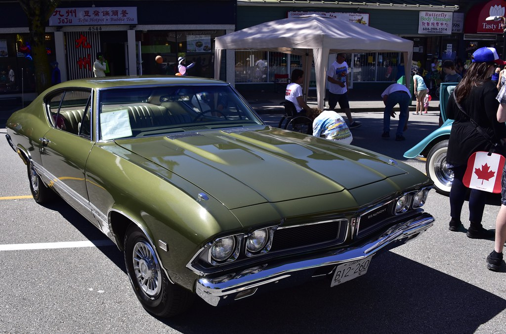1968 Pontiac Beaumont Sd 396 Hats Off Day Burnaby