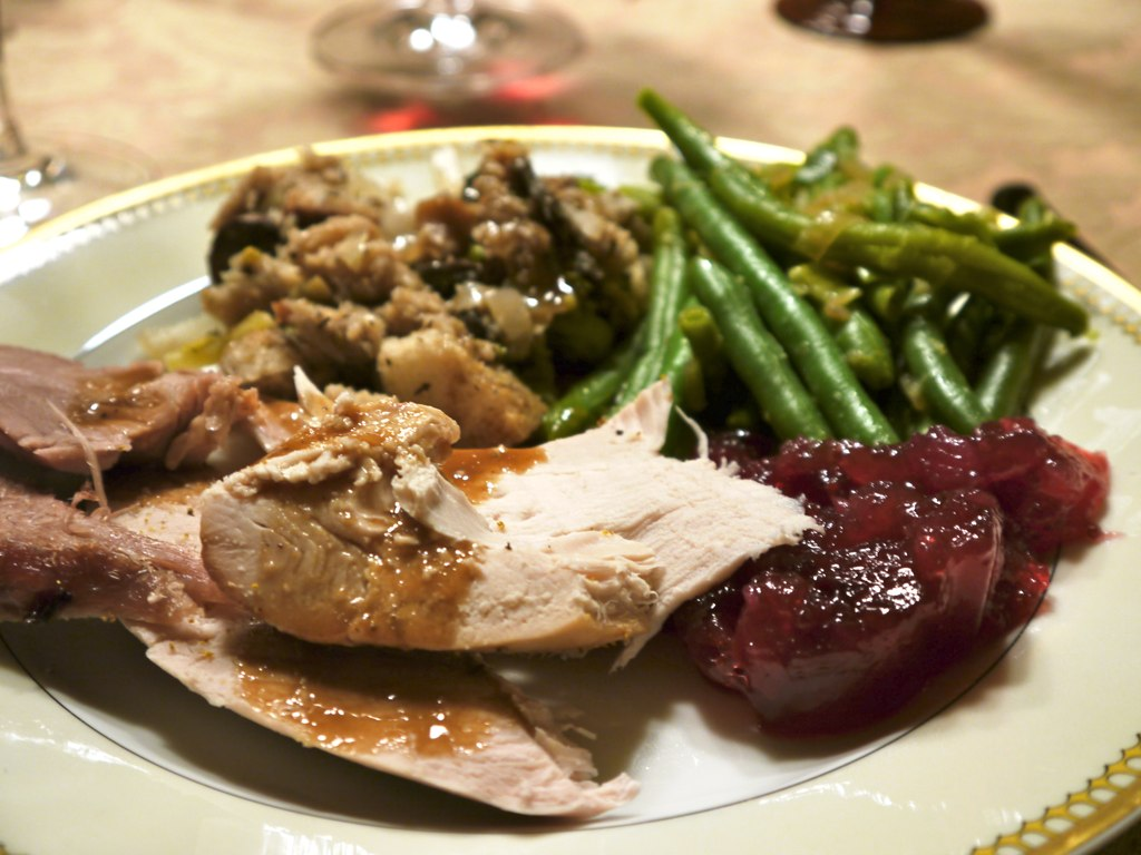 Thanksgiving Dinner I Featured The Basics Kosher Turkey