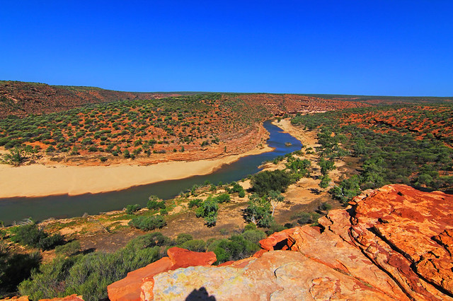 Murchison Australia  city photos : the Murchison River gorge in Kalbarri National Park, Western Australia ...