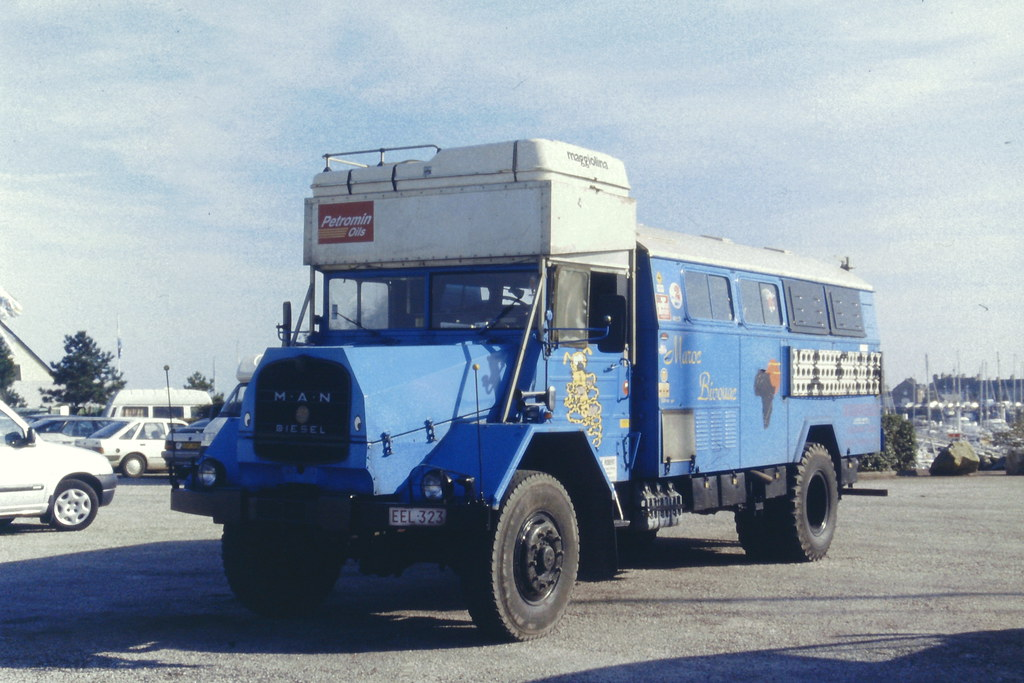 MAN 630 4X4 1960 | camping car, ancien camion militaire ...