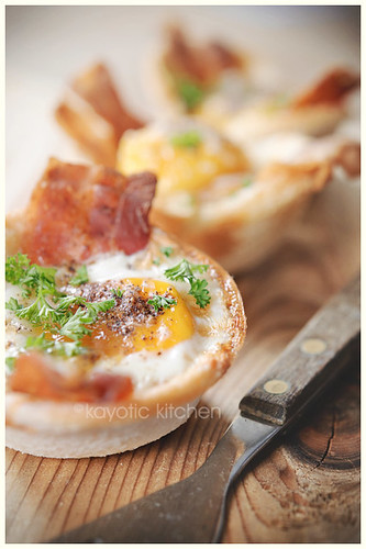 Eggs, Bacon & Toast Cups | by kayleighb