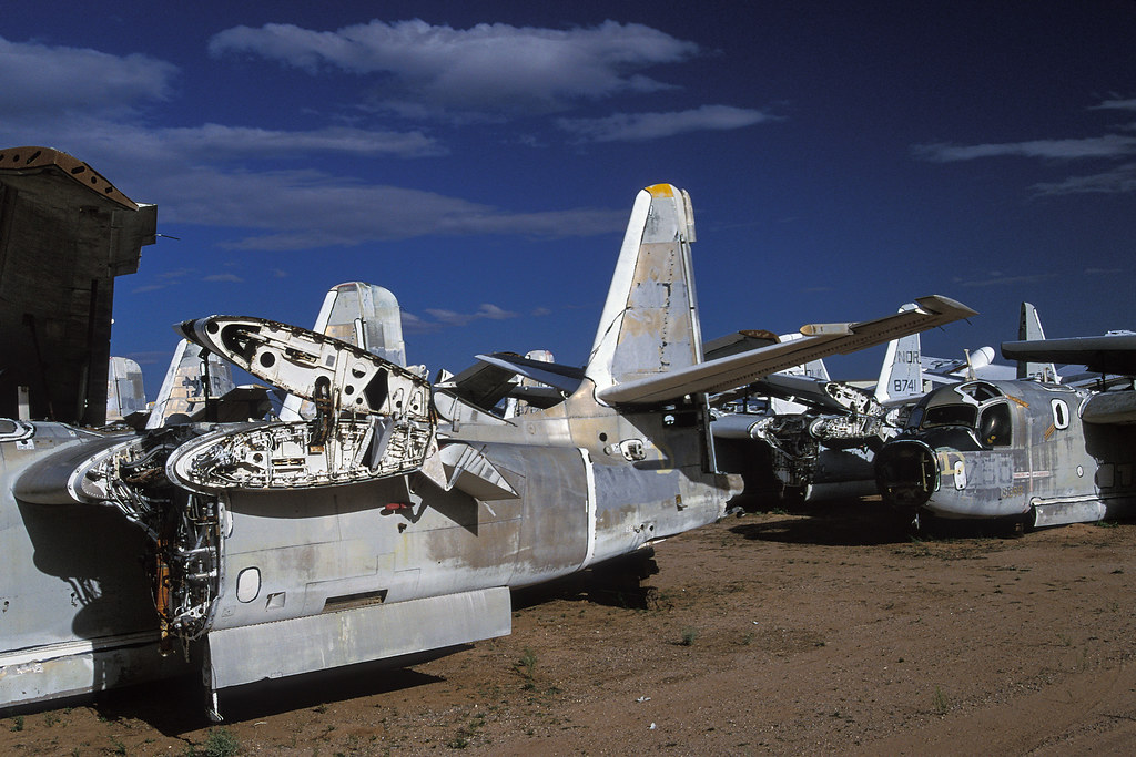 Davis Monthan Boneyard >> airplane graveyard. tucson, az. 1999. | scans from the archi… | Flickr