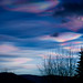 """Floating Prisms of light - """"nacreous clouds"""""""