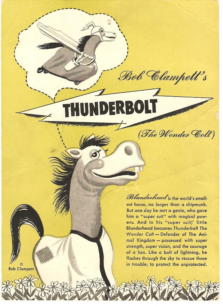 Image result for images of thunderbolt the wondercolt