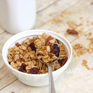 Vanilla-Scented Granola | by Tracey's Culinary Adventures