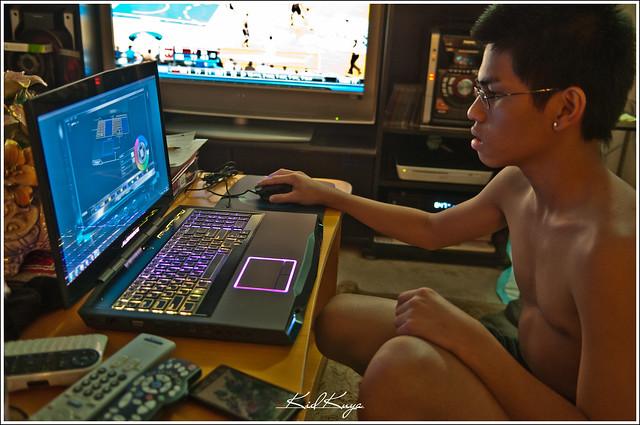 Computer Gaming Setup Gaming computer setup