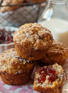 Strawberry-Balsamic and Goat Cheese Muffins-6.jpg | by Salad in a Jar