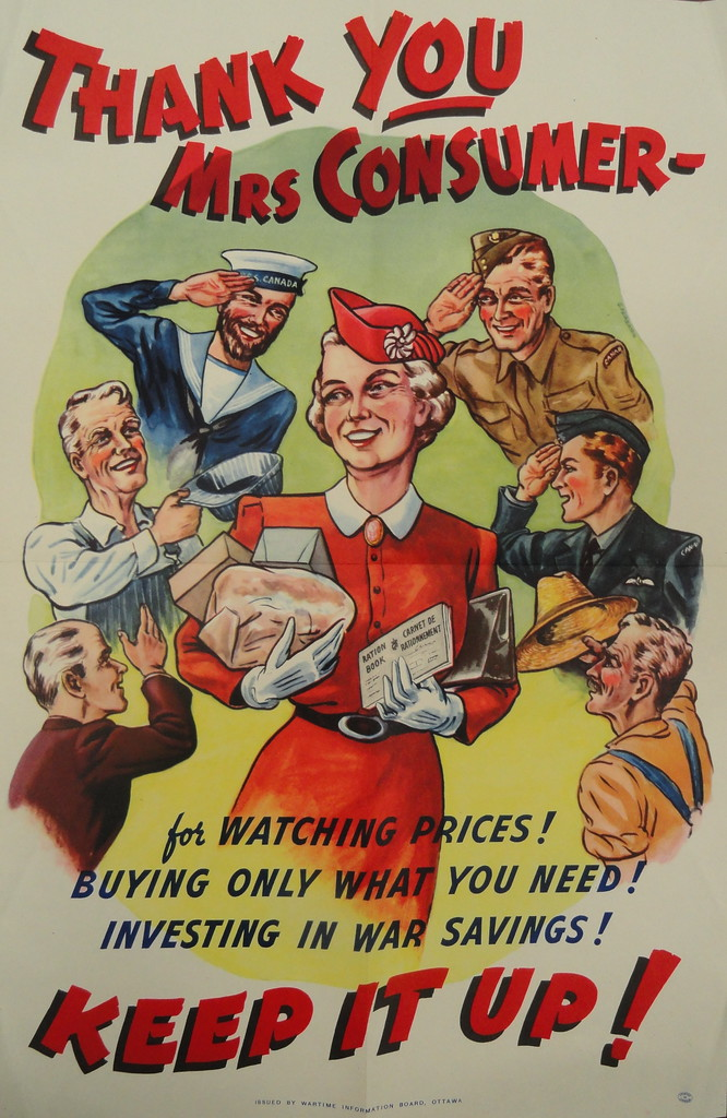 mrs consumer poster poster printed in canada during the