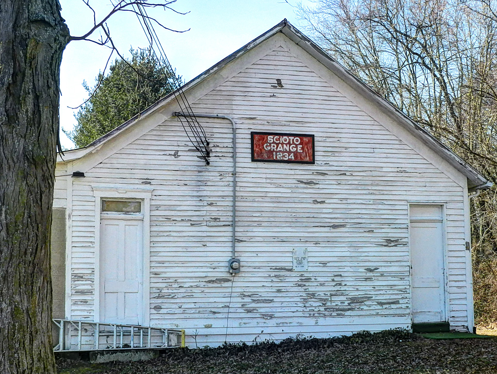 Scioto grange 1234 once a schoolhouse the plain jackson - National grange of the patrons of husbandry ...