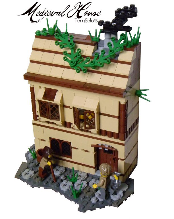 Lego Medieval House lego - medieval house | okay, i wanted to build my own medie… | flickr
