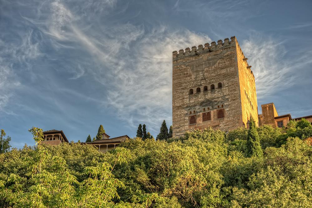 Tower Of Comares Torre De Comares La Alhambra Granada