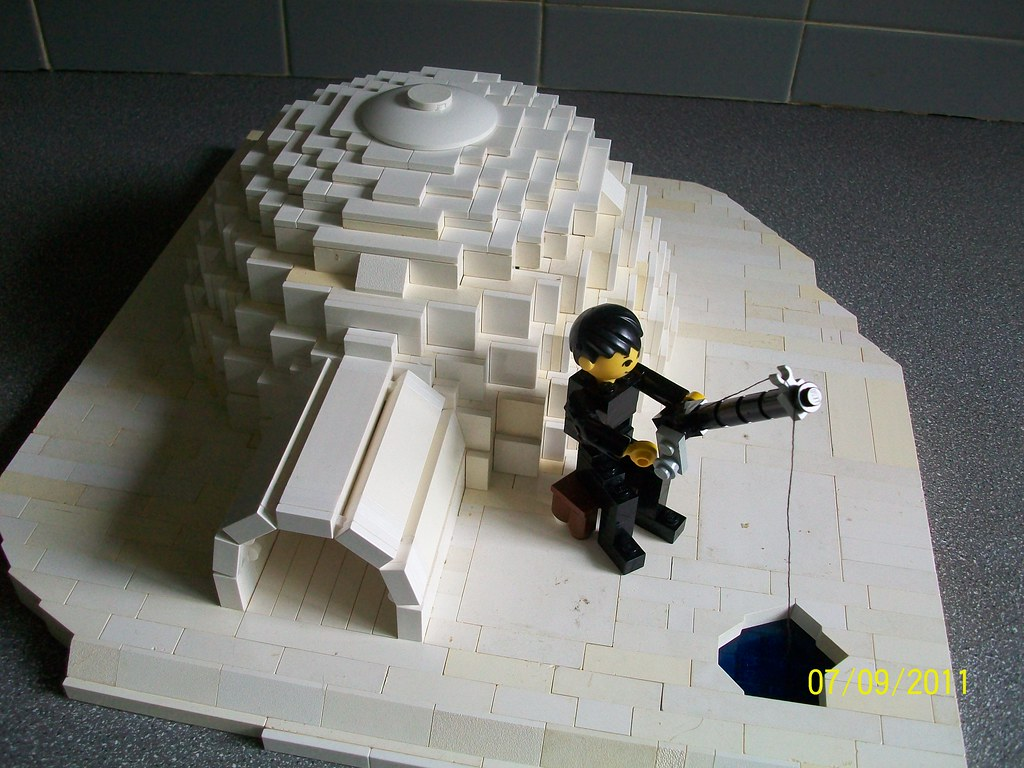 Lego Igloo Nearly All My White Tiles Are In This Picture