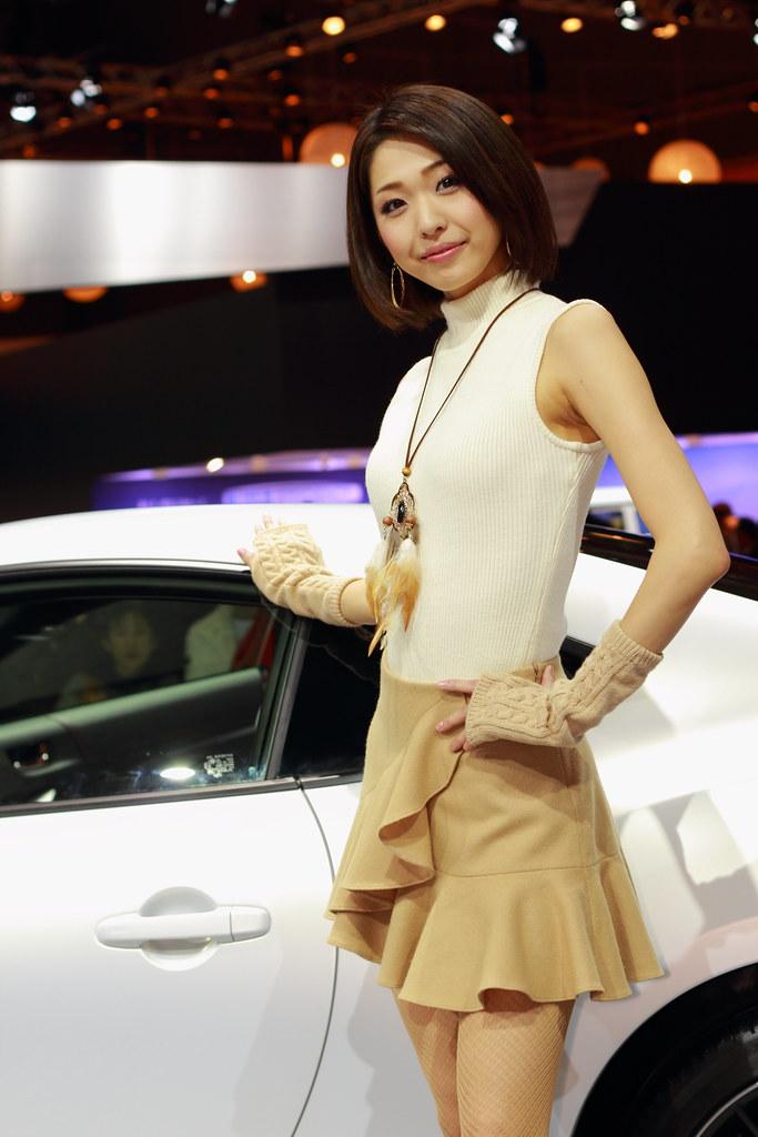 Tokyo motor show models spycam part 1 - 2 8