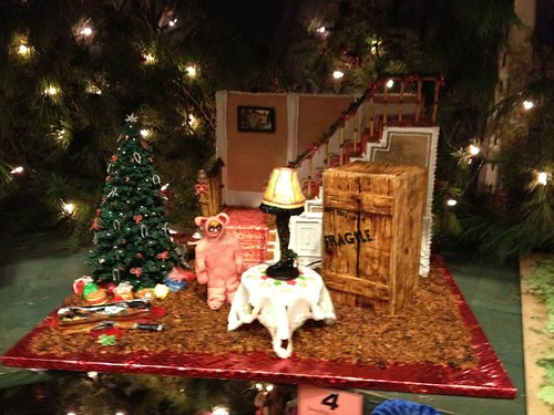 Christmas Story gingerbread house | by tina_mancuso