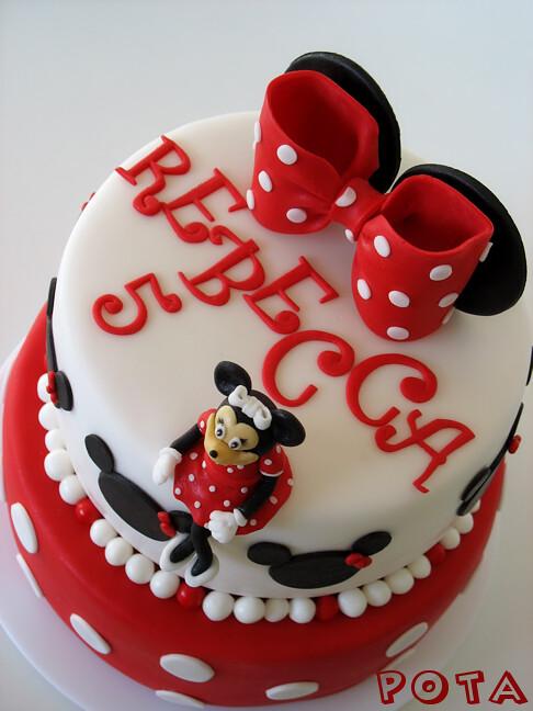 G 226 Teau Minnie Mouse Cake Minnie Mouse Lazic Monika Flickr