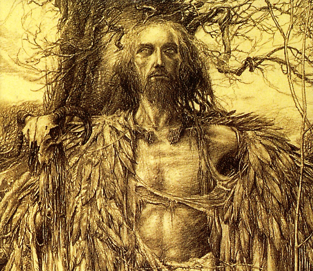 Merlin by Alan Lee | I found a stronger image of Merlin by ...