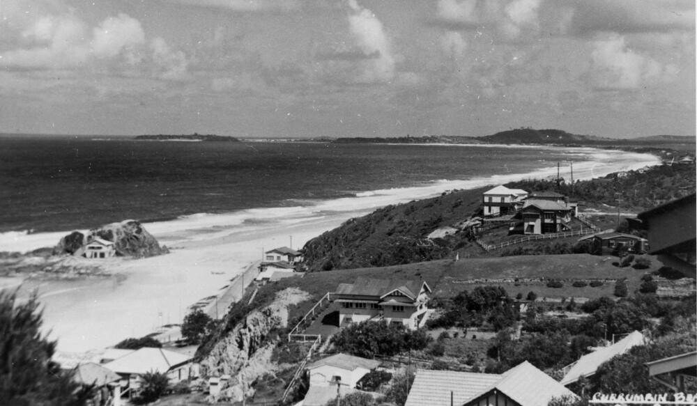 Currumbin Beach On The Gold Coast Queensland Ca 1938