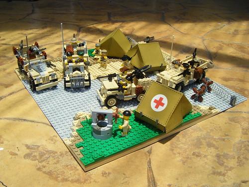 Lrdg Base Camp By Lego Major