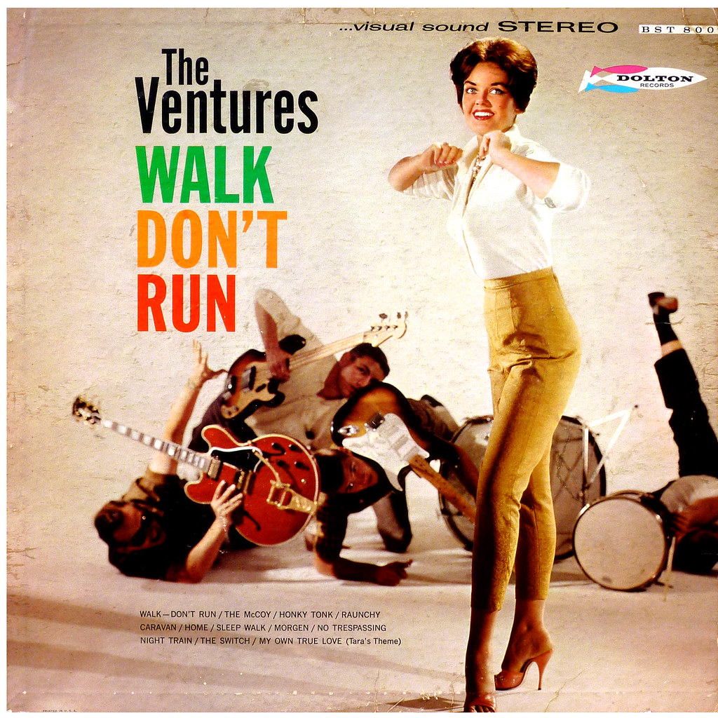 how to play walk don t run by the ventures
