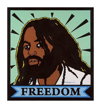Mumia-Freedom-2010-by-Emory-Douglas | by mumianyc