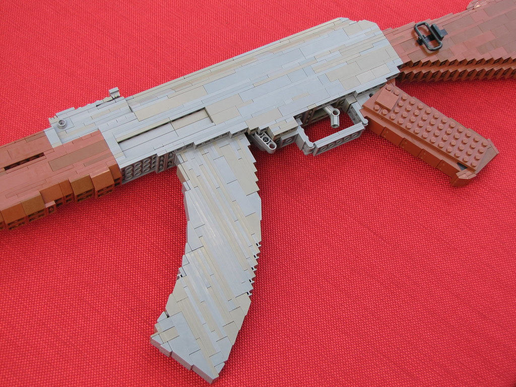 Lego Armory: AK47 by kliefox on DeviantArt