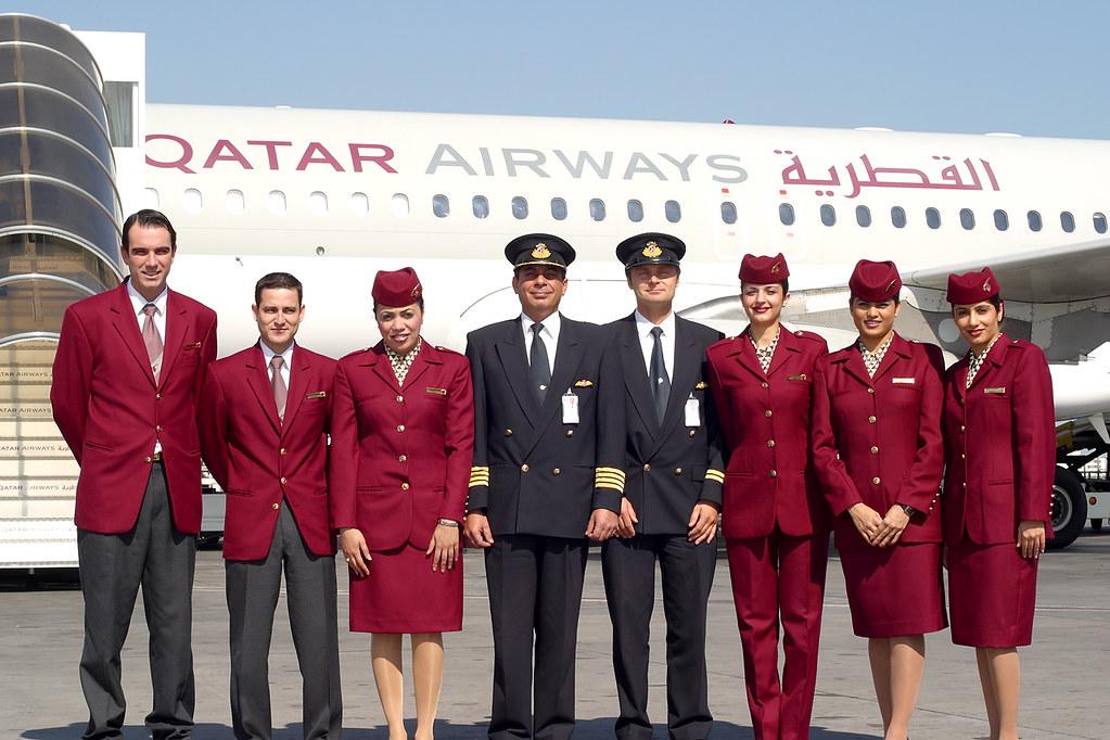Crew Qatar Airways | Qatar Airways (c) Viking Aviation Photo… | Flickr