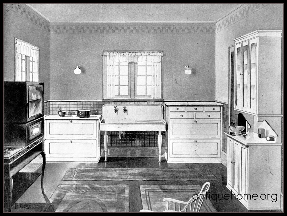 1920 S Modern Kitchen Twenties Bungalow Kitchen Www