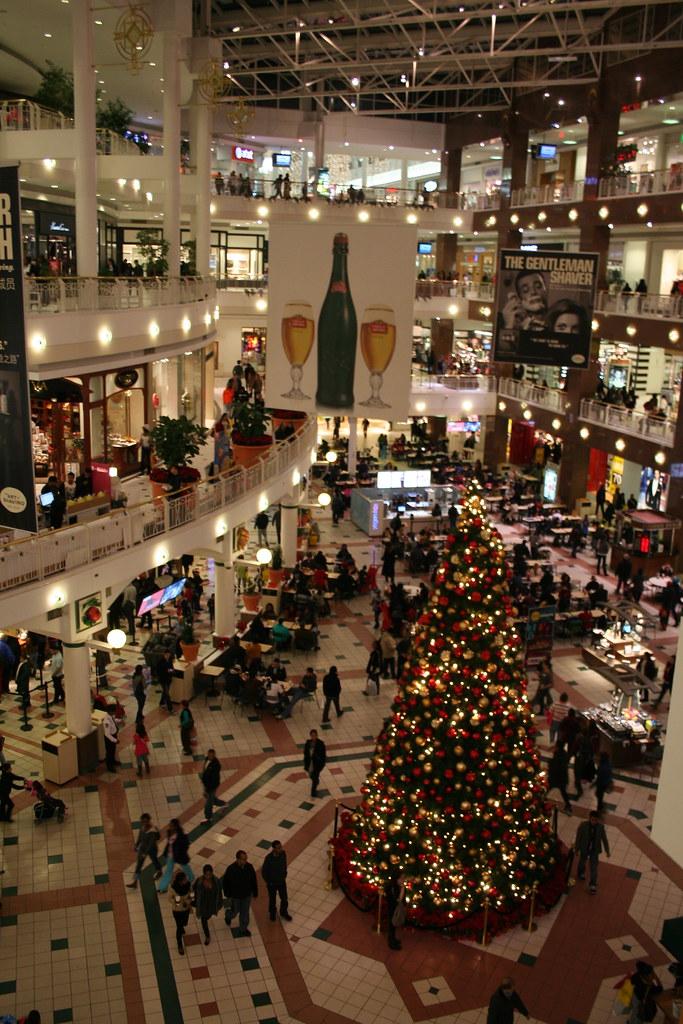 christmas at pentagon city mall