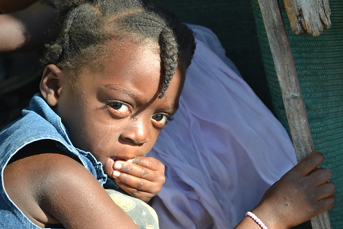 Haiti's children - it's future - growing up in tent camps | by Gaetantguevara
