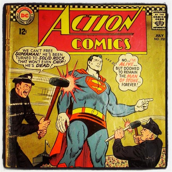 Superman 1950 Comic iPhone Instagram Photo...