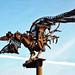 Pájaro prehistórico steampunk en Colonia
