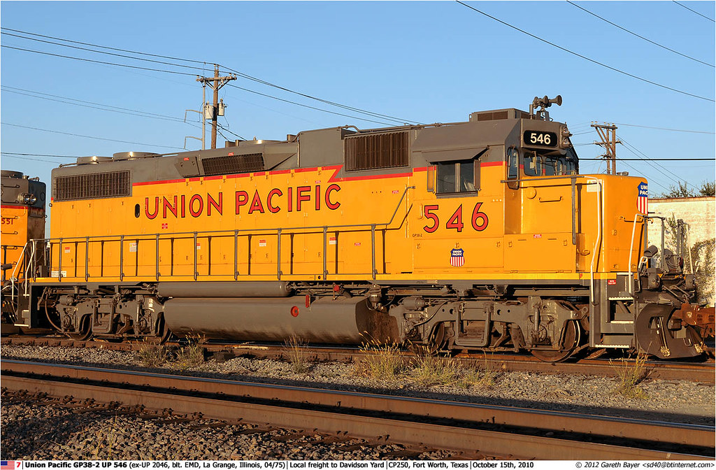 UP546GB_151010 | Union Pacific GP38-2 UP 546 (ex-UP 2046, bl ...
