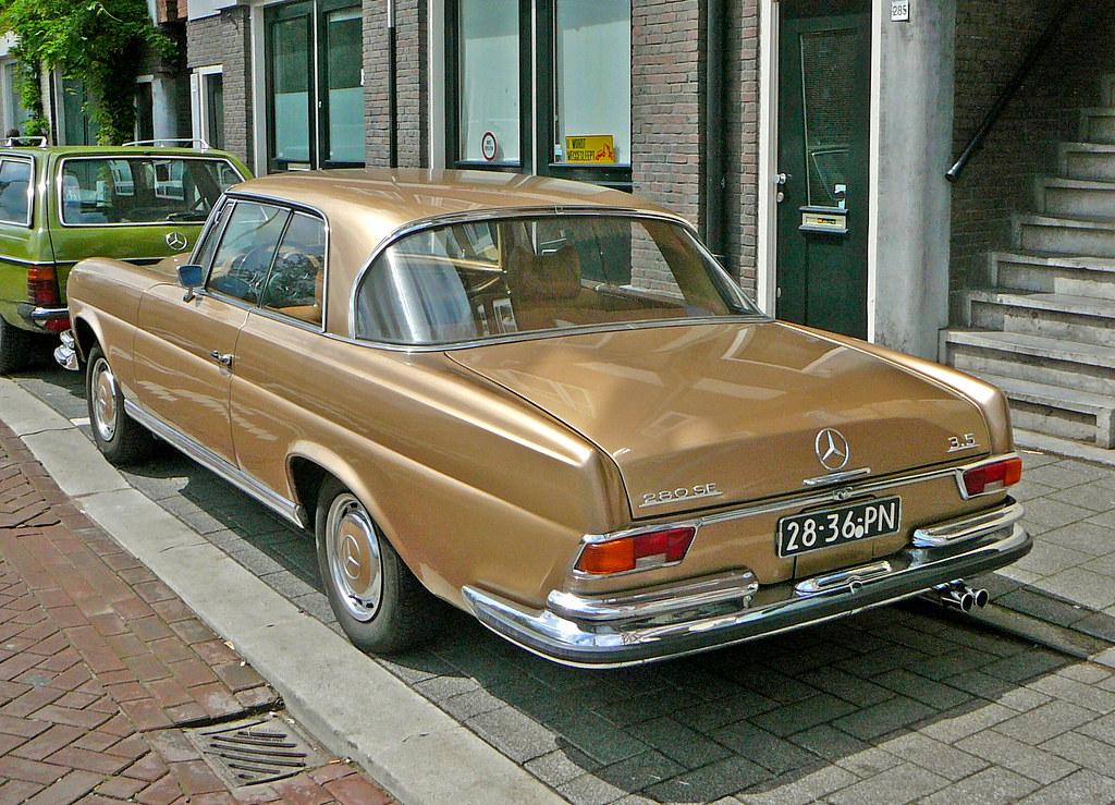 mercedes 280 se w108 1970 amsterdam baarsjesweg 06 2. Black Bedroom Furniture Sets. Home Design Ideas