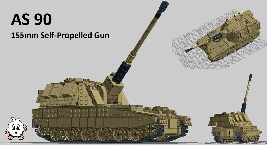 AS 90 (v2.0.0) | The AS 90 SPG of the British Army; Royal ...