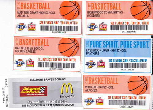 Indiana High School Basketball tickets | Flickr - Photo Sharing!
