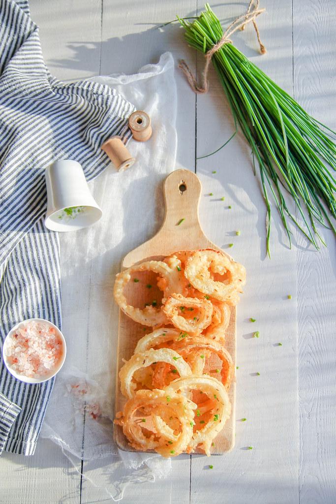 Onion rings {sans gluten - sans lait}