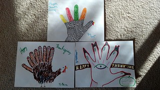 Hand Turkeys! | by Matthew Oliphant