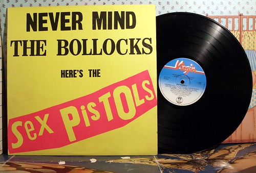 SEX PISTOLS, NEVER MIND THE BOLLOX HERE'S THE SEX PISTOLS, | by badgreeb RECORDS - art -photos