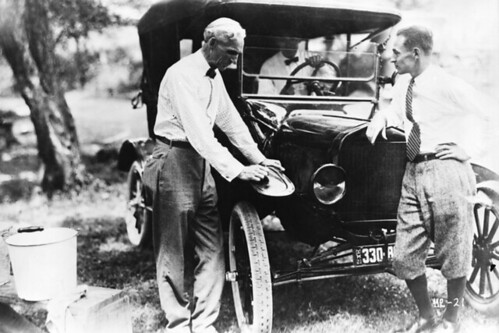 Henry and Edsel Ford, 1921 | by The Henry Ford