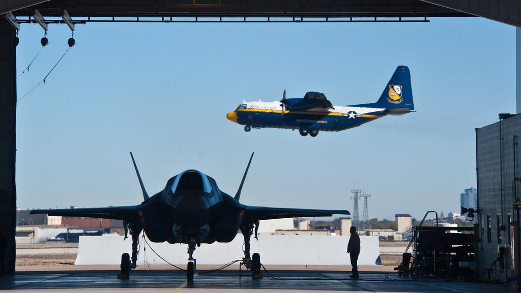 F-35B & The Blue Angels' Fat Albert | The U.S. Navy Blue ...