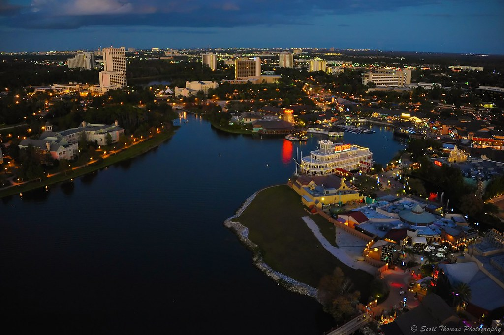 Downtown Disney Hotels Map