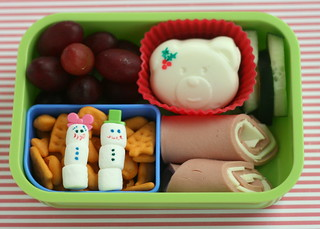 mixed Christmas bento lunch | by anotherlunch.com