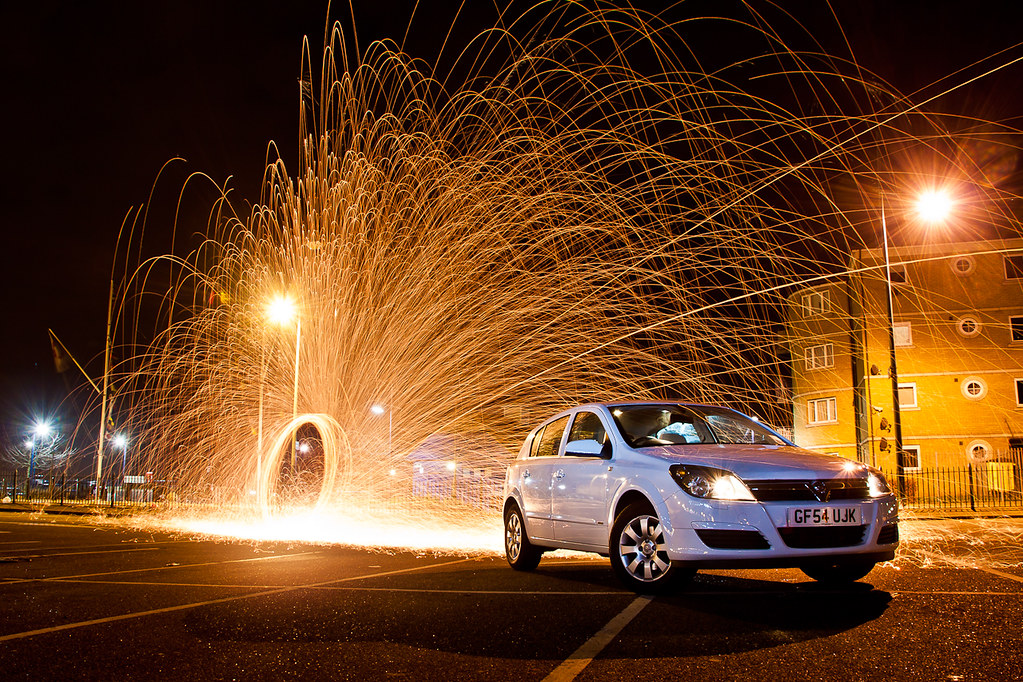 Car Photography Painting With Light