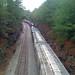 Train tracks near Trafford