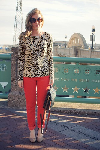 fashion-jcrew-leopard-red4 | by Kitty Cotten
