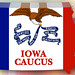 GOP Iowa Caucus Jan 3, 2012 - Illustration